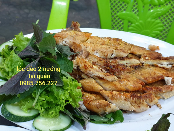 khô cá lóc 2 nắng nướng